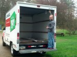 Chris loading up the Uhaul